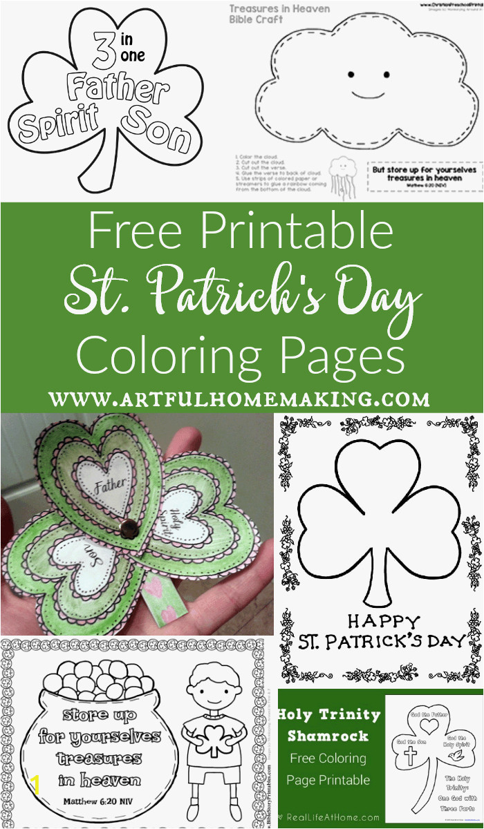 coloring pages for st patrick039s day printable patricks lovely patrick color