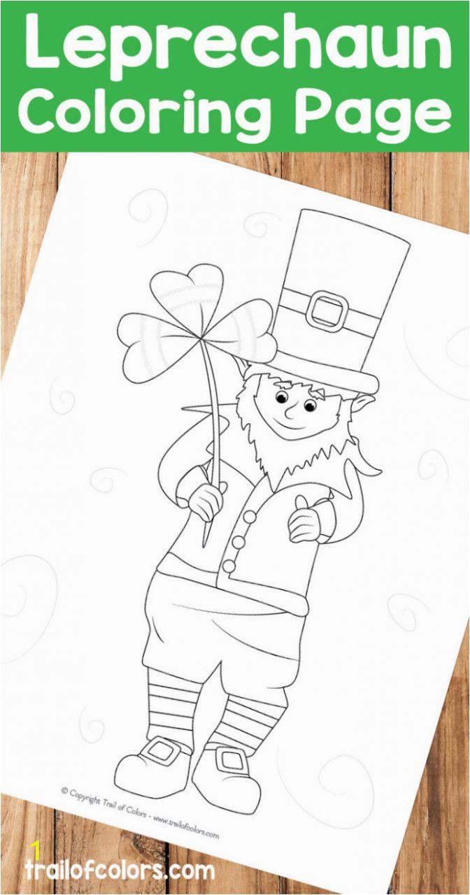 adorable leprechaunring page st patrick day patricks pages trail ofrs kolaz 692x1318 for patrick039s 672x1280