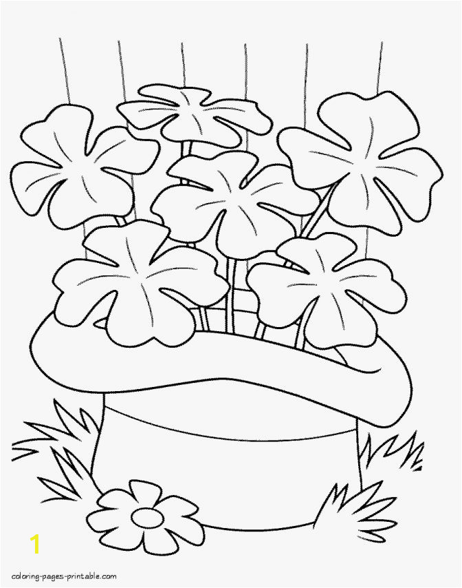 color pages coloring for st patrick039s day printable patrickamp039s lovely patrick s clover 672x854