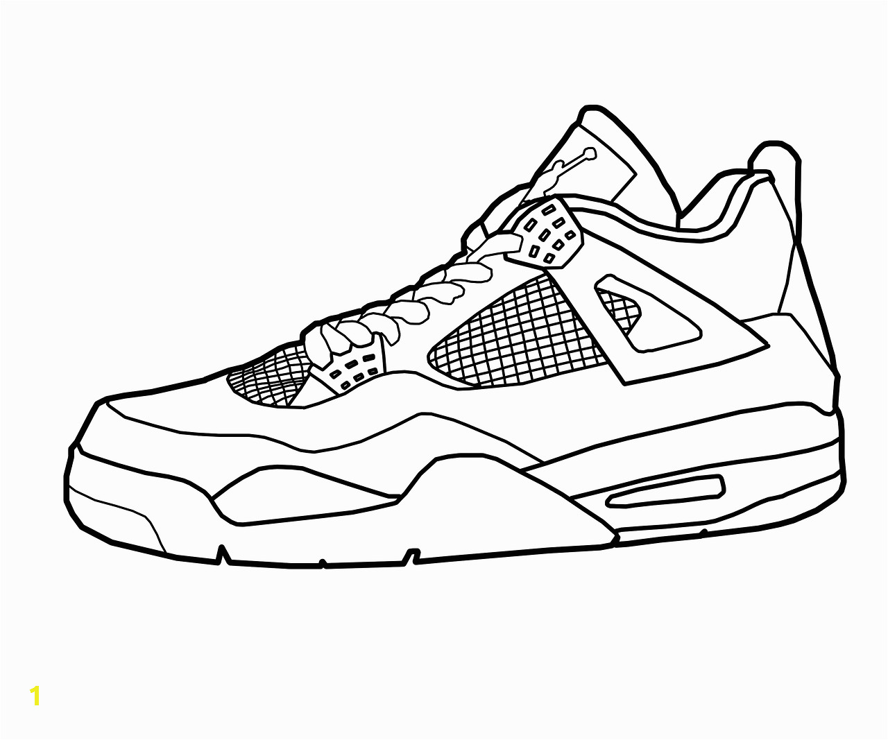 3303bef a92bb ed8f4a 28 collection of air jordan 4 drawing high quality free 1280 1067