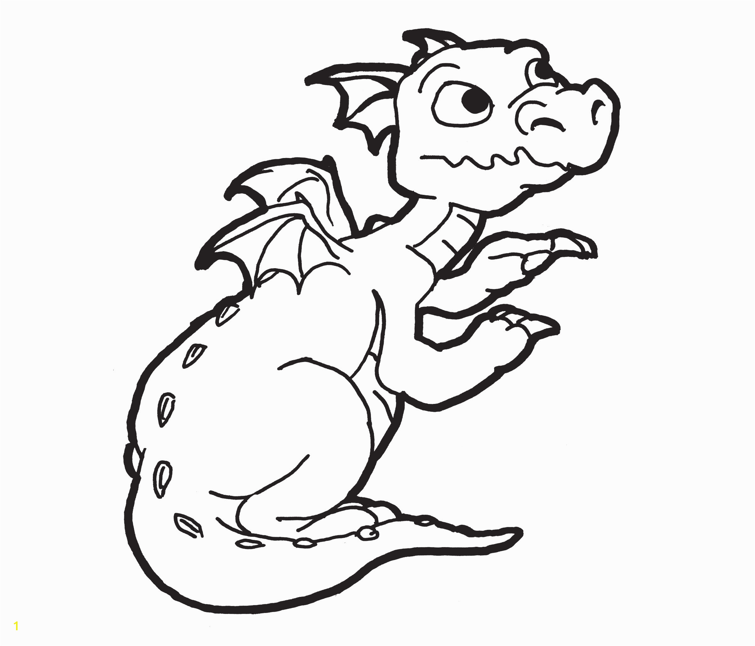 dragon coloring pages 1 9304