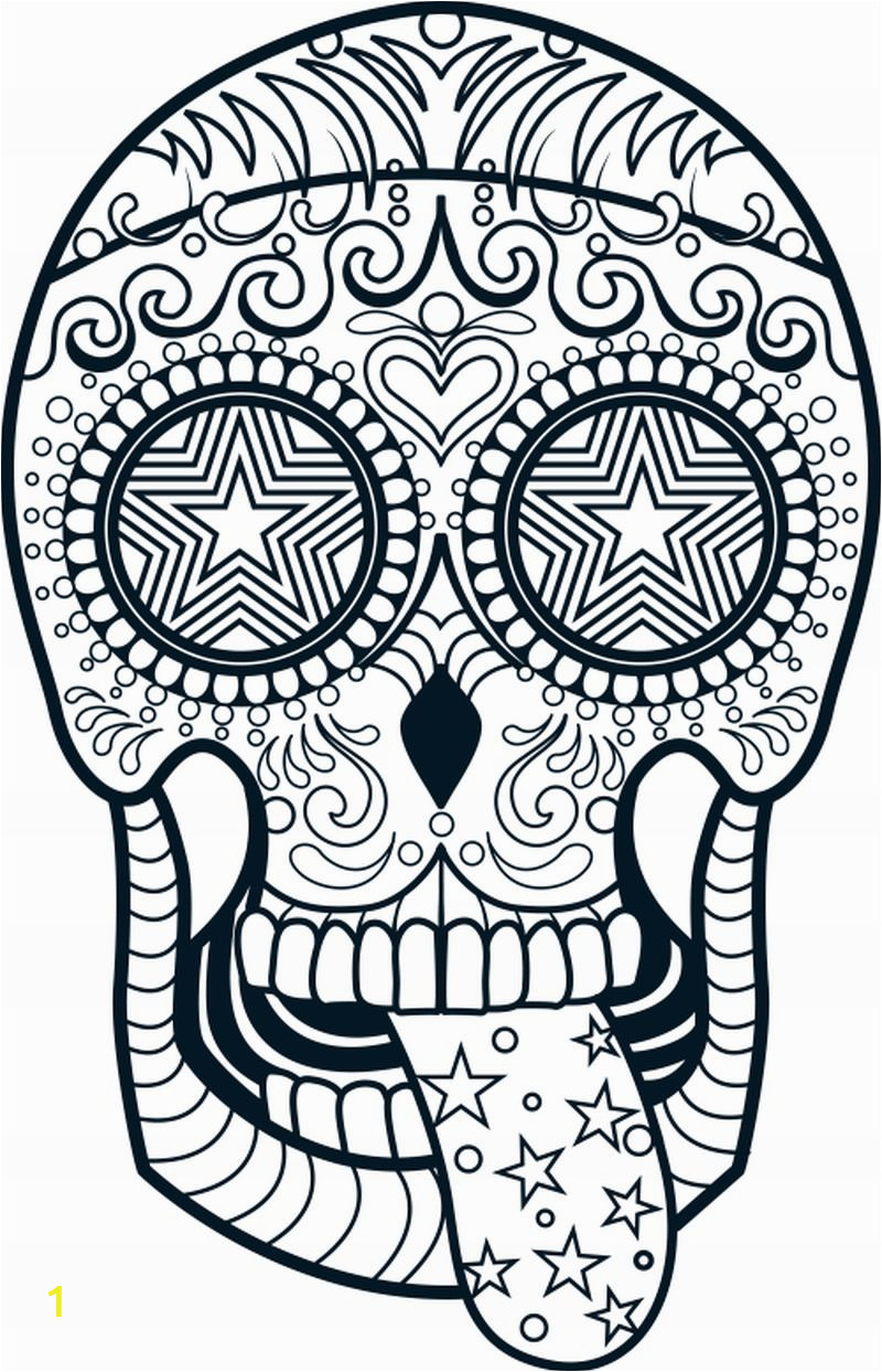 adult sugar skull coloring pages candy sheet free sheets