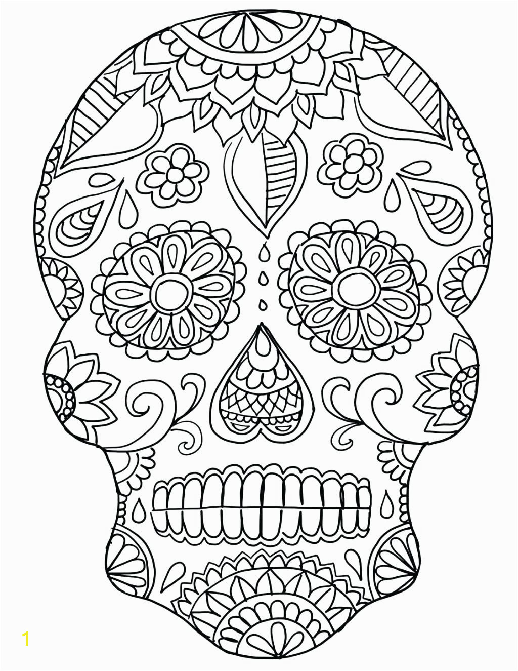 free adulte coloring pages lagunapaper co marvelous sugar skull for kids female book easy