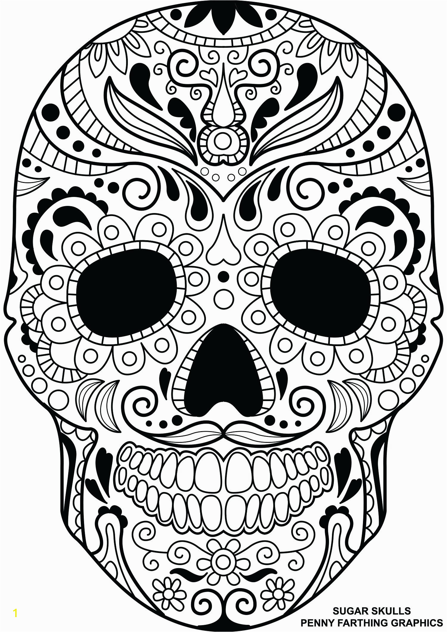 full size of coloring page free sugar skull pages for adults colouring printable stunning