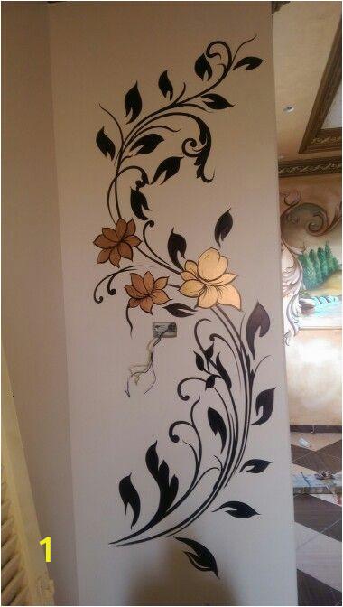 Simple Wall Mural Paintings مود رن