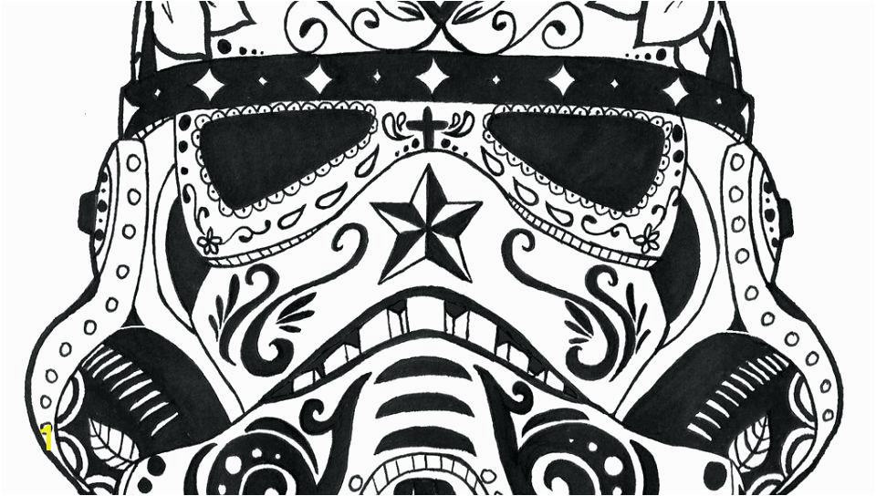 pages skull for adults skulls sugar coloring colouring in printables troopers with 3 me