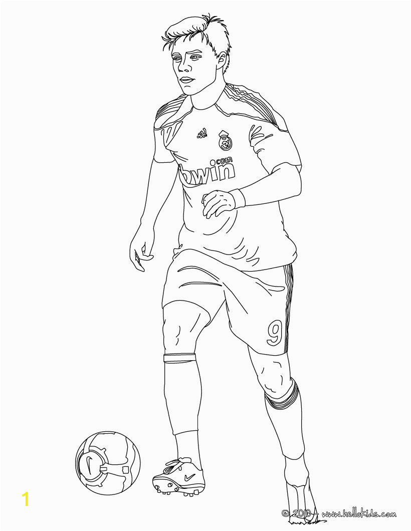 Soccer Player Messi Coloring Pages soccer Colouring Pages Cerca Con Google