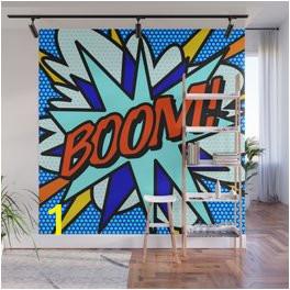 ic book boom wall murals