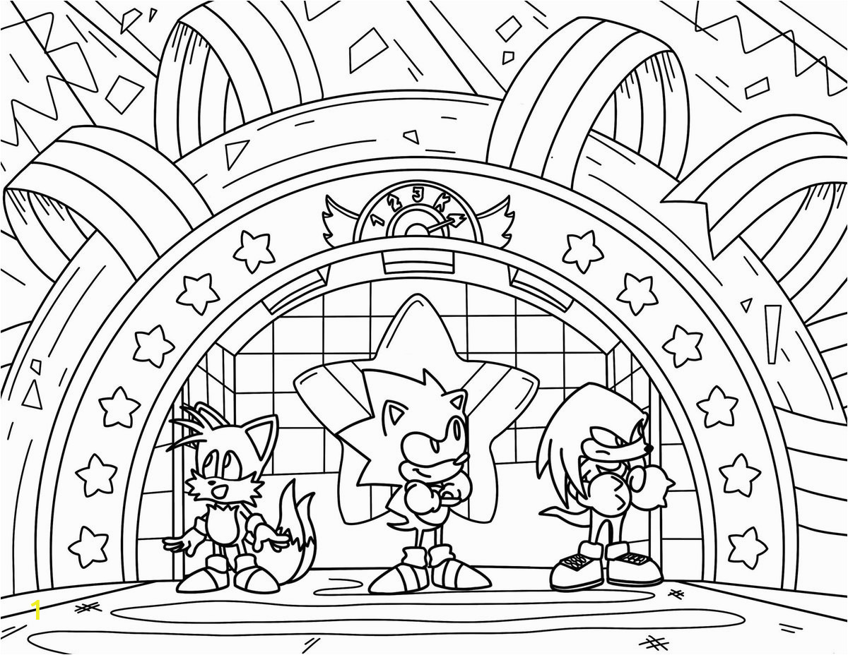 """Sonic Mania Plus Coloring Pages sonic the Hedgehog S Tweet """"happy Friday In Honor Of"""