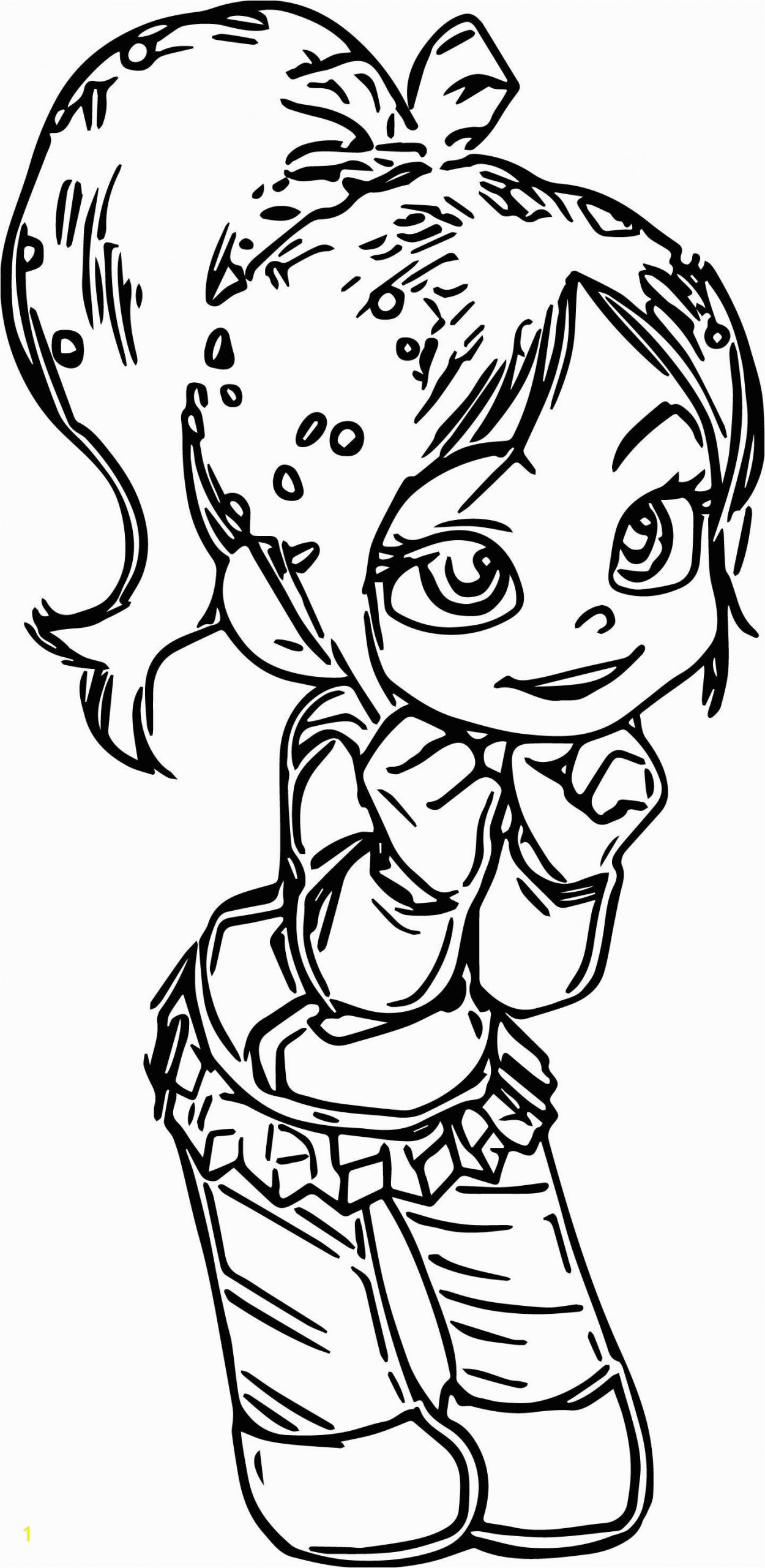 Sonic Mania Plus Coloring Pages Vanellope Von Schweetz Girl Coloring Page