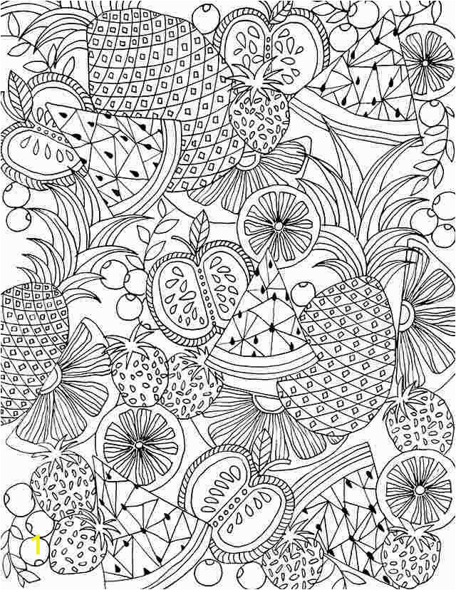 mixed fruit coloring pages fruits netart pages fruit mixed coloring