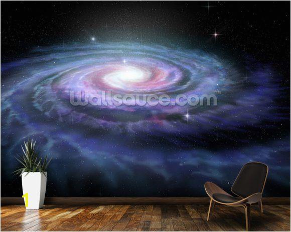 Space Wall Murals Uk Spiral Galaxy Milky Way