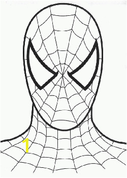 bbe7f99e650b0a12cbe1c a88b spiderman face spiderman coloring pages free printable ideas 250 349