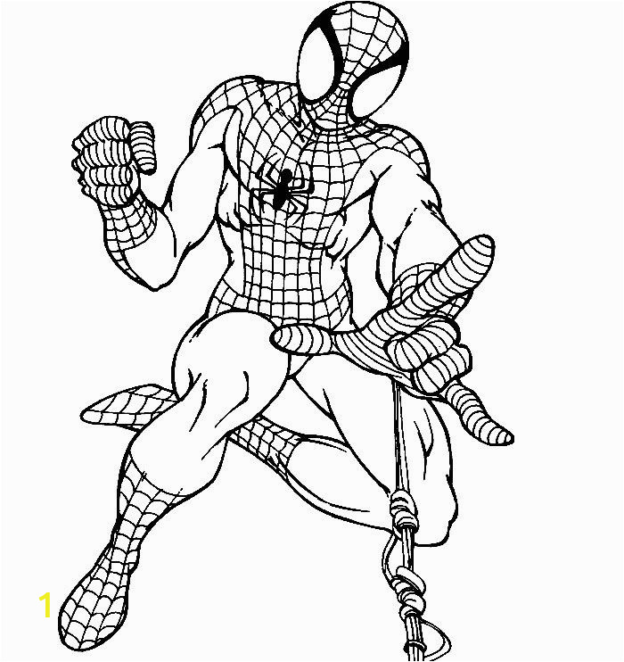 Spiderman Face Coloring Page Pin On Colorist