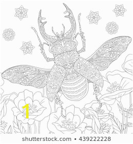 zentangle stylized cartoon stag beetle 260nw