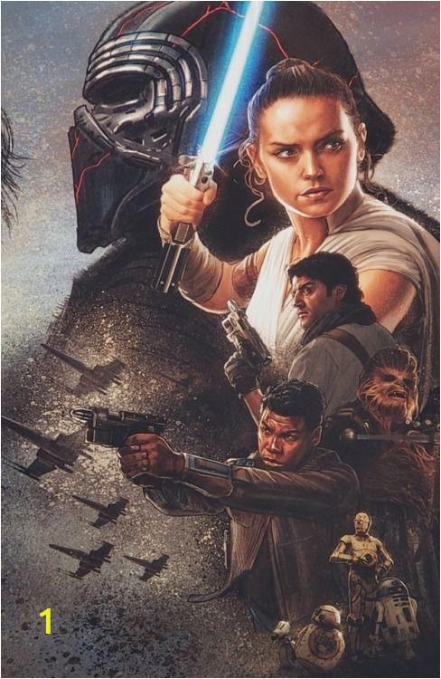 Star Wars Saga Wall Mural Star Wars Episode Ix the Rise Of Skywalker Celebration