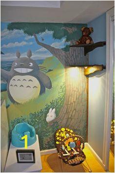 af09b1050a e7bae90ba1143ccd4 totoro bedroom totoro nursery