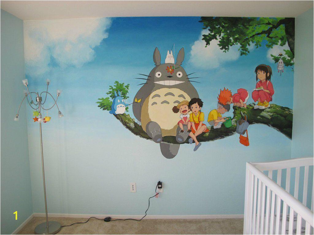 Studio Ghibli Wall Mural Trailer Weekly 95