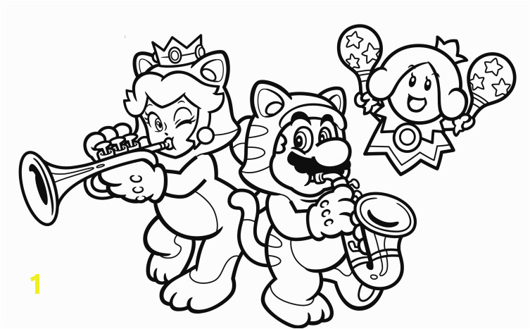 Super Mario 3d World Coloring Pages Super Mario 3d Coloring Pages 2 by Jennifer