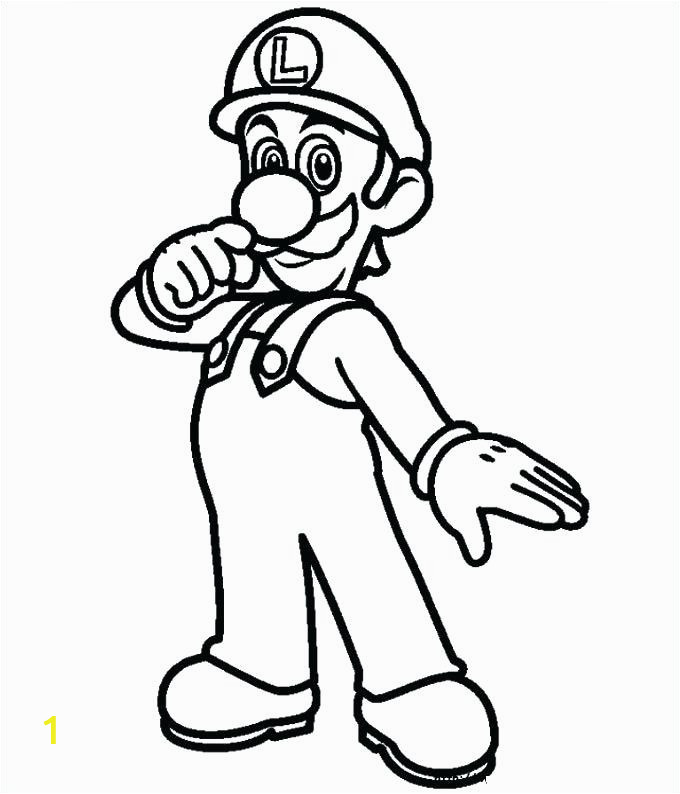 super bros coloring pages mario printable colouring page