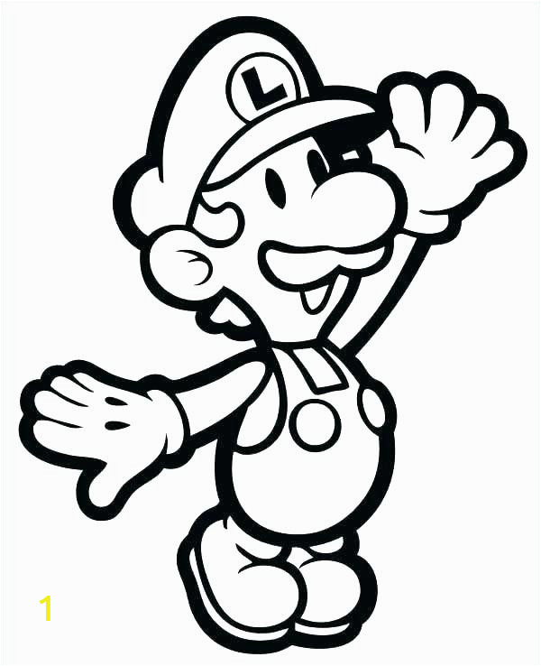 printable coloring pages new super bros line o d colouring of mario free n