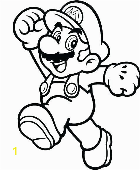 Super Mario Coloring Pages Free Online Super Mario Coloring Page Best Stock Mario Color Pages