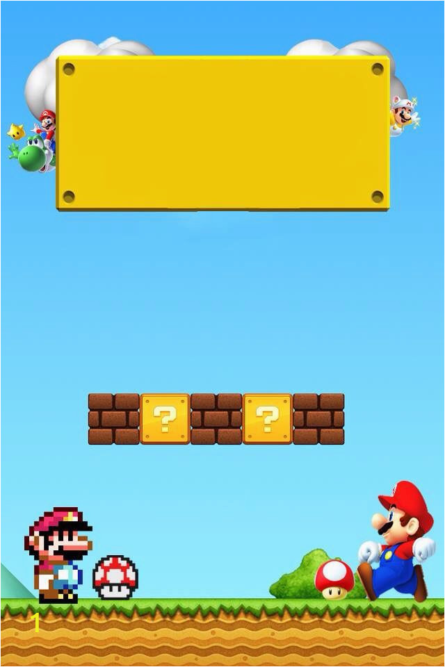Super Mario Wall Murals Uk Super Mario Lock Screen Wallpaper iPhone 4s
