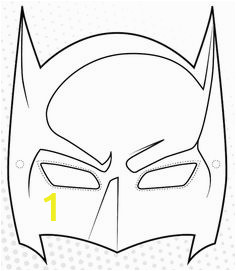 0dc70c57c5508db b07d074dd537 batman mask template superhero template