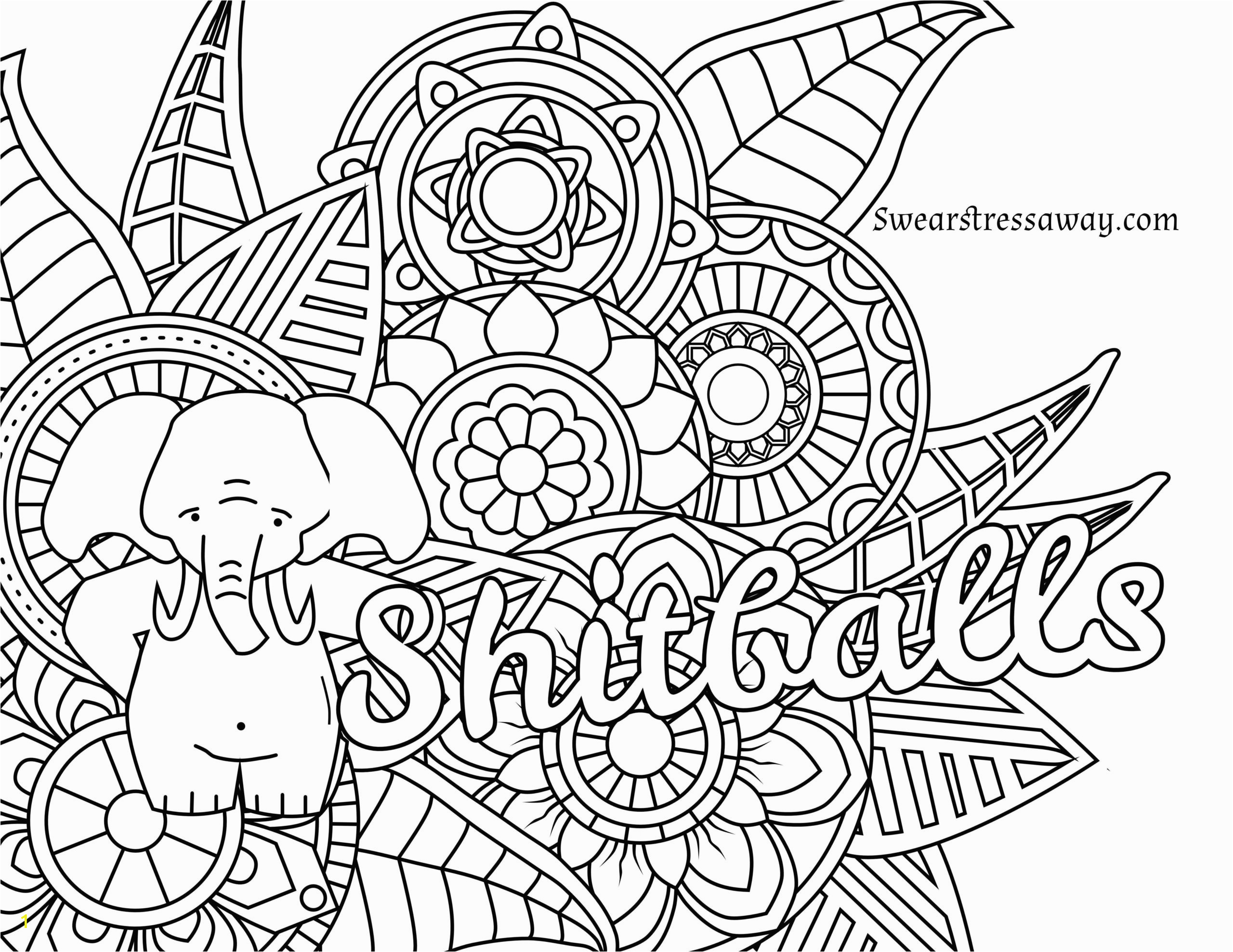 Swear Word Adult Coloring Book Pages 58 Most Awesome Curse Word Coloring Book Lovely Swearresh