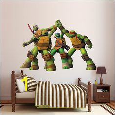 e5d088a1facaff1ecf2e7cbe393 ninja turtle room decor boys room ideas