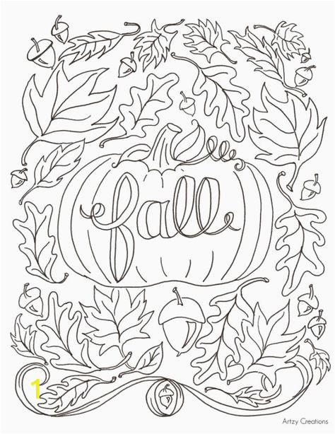 Thanksgiving Fall Coloring Pages Falling Leaves Coloring Pages Luxury Fall Coloring Pages for