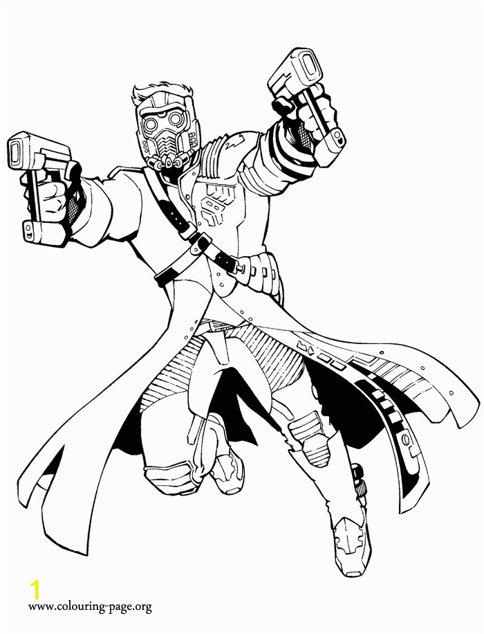 Thanos Printable Coloring Pages Guardians Of the Galaxy Star Lord Coloring Page