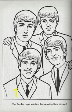 f69be3bf7c4b7e8493ae880d5731c126 coloring book beatles