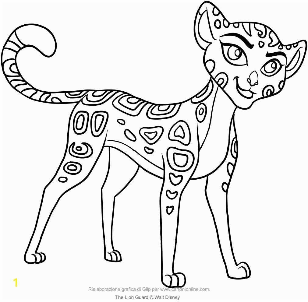 lion guard coloring pages kuxzfft stunning printable for kids the hyena
