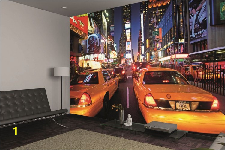 new york times square taxi i