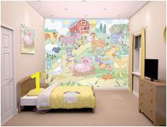 b7f3c366cf e4f3 kids wall murals baby dinosaurs