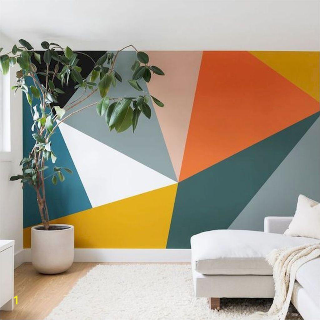 Tonal Circles Wall Mural 60 Best Geometric Wall Art Paint Design Ideas 1