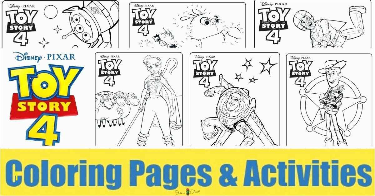 coloring pages toy story 4 all characters