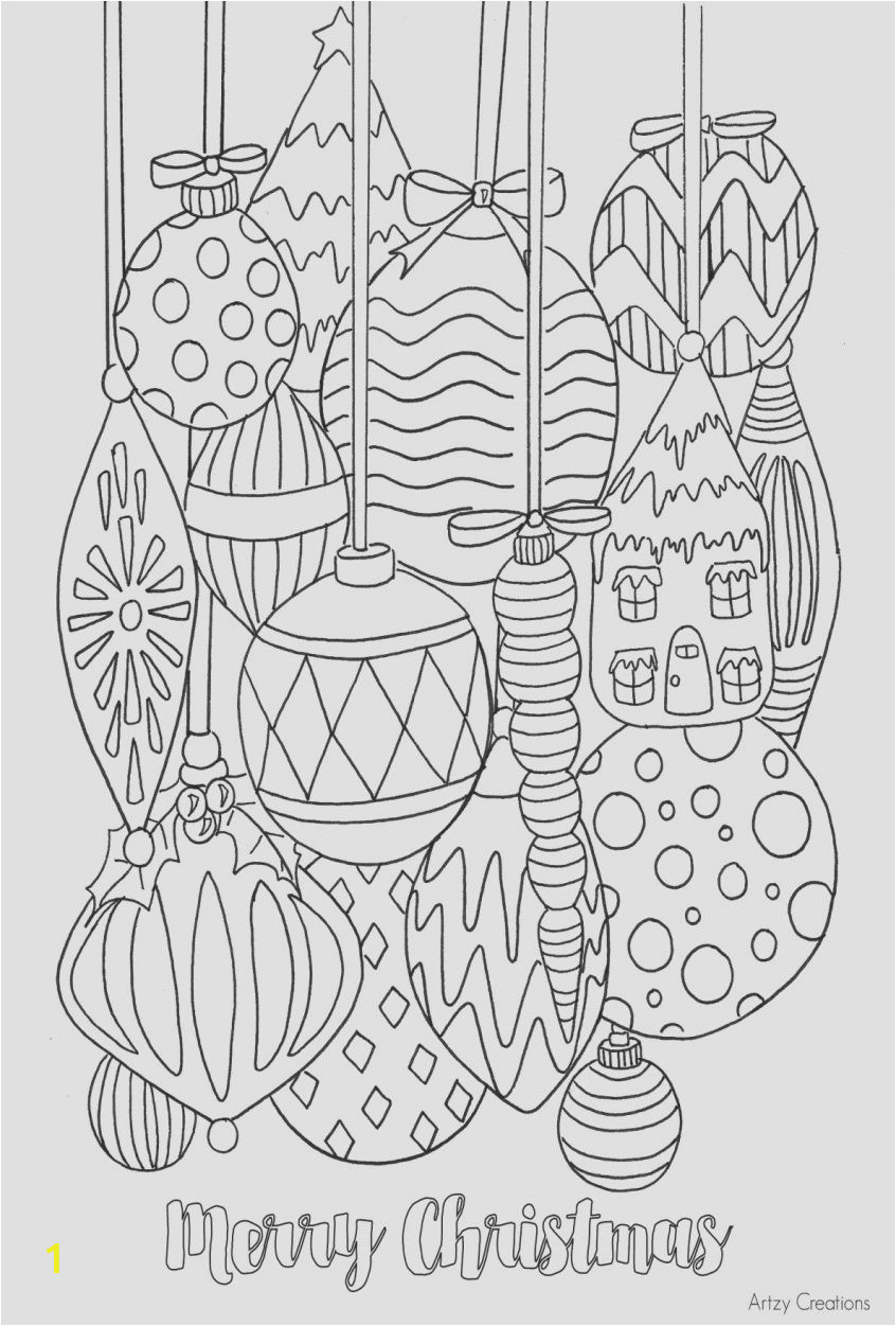 good coloring pages to print christmas printable free elegant best page adult od of simple fun for adults pictures colour in merry elf tree difficult online holiday 846x1251