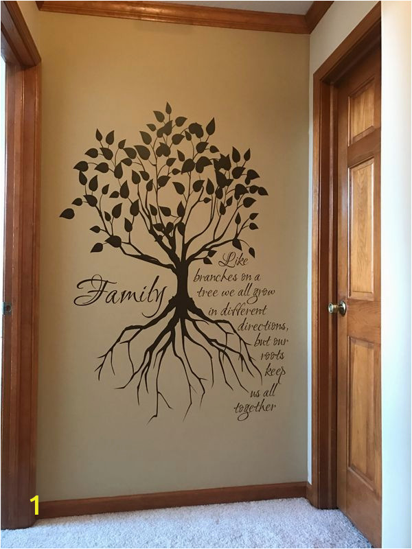 Tree Mural Wall Art Family Tree Wall Decal
