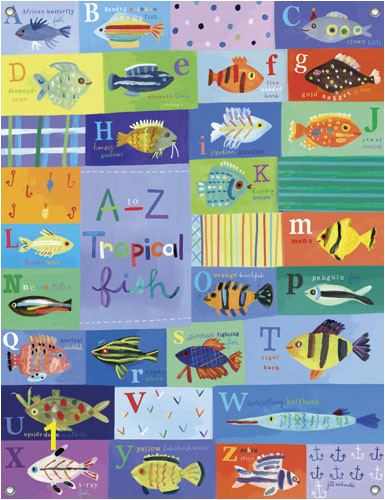 50 A ZTropicalFish