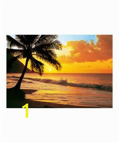 Tropical Sunset Wall Murals 7 Best Sunset Mural Paintings Images