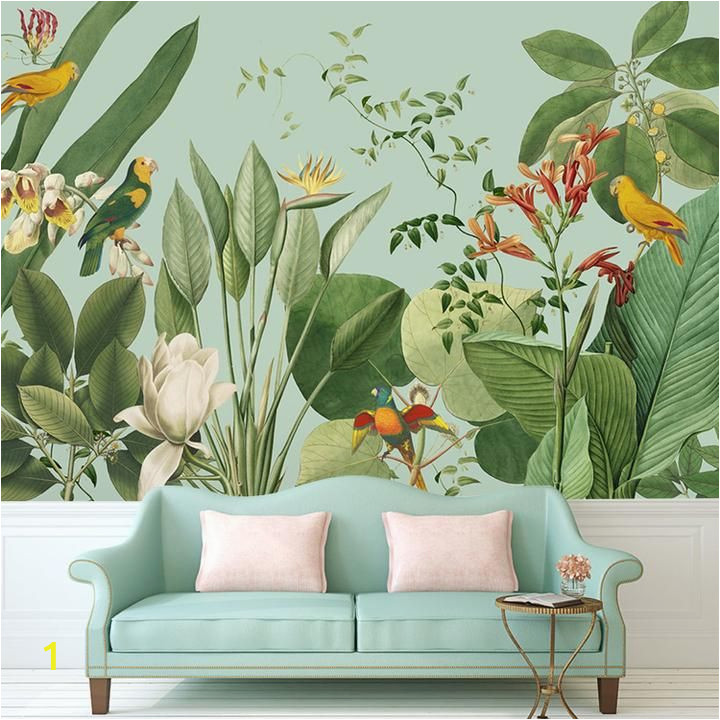 Tropical Wall Murals Wallpaper Birds Of Paradise Tropical Wall Mural