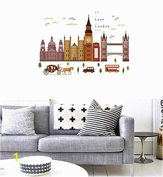 Twin Walls Mural Company Amazon Bibitime I Love London Quotes Decals Church Big
