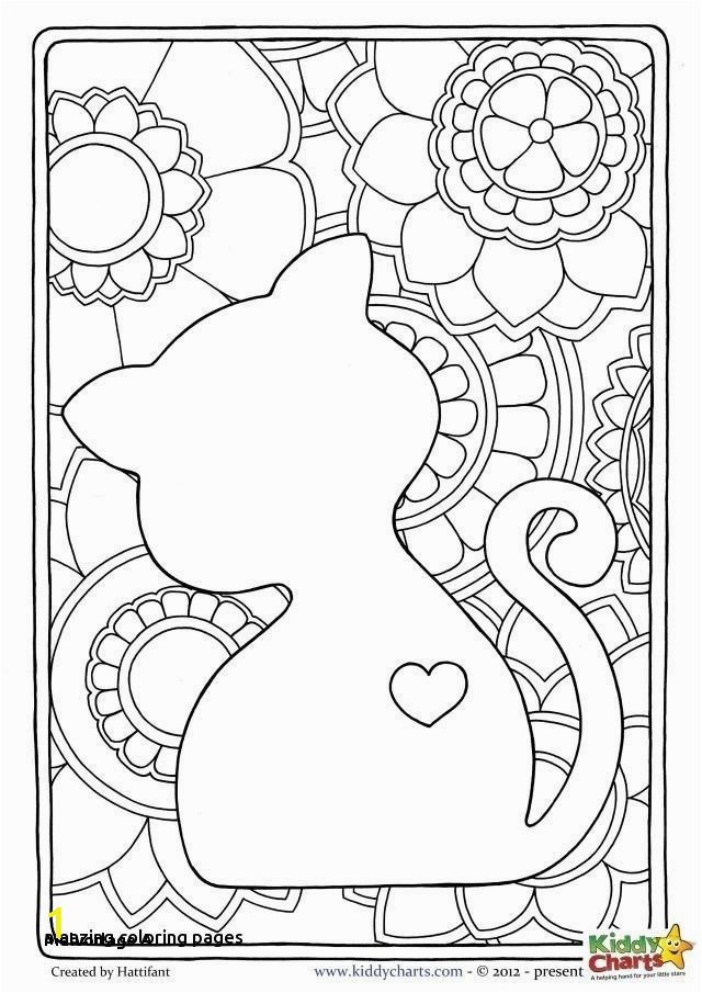 Unicorn Cat Coloring Pages divyajanani