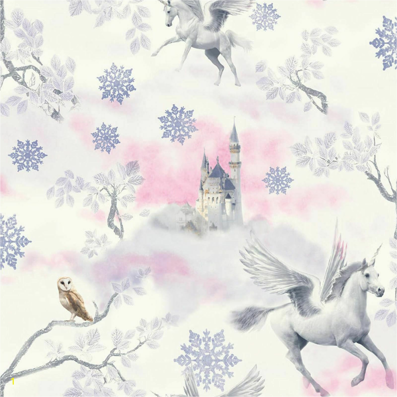 Unicorn Wall Mural Ebay Fairytale Unicorn Wallpaper Lilac Arthouse Glitter