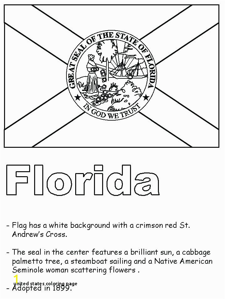 california state flag coloring page map