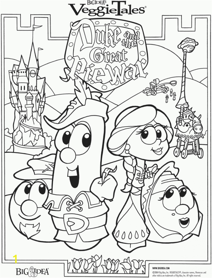 amazing printable veggie talesring pages ve ables free activity for kids scaled tales coloring color easter clip veggietales dailymotion princess and the 712x932