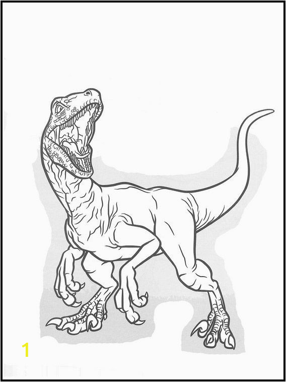 Velociraptor Blue Jurassic World Coloring Pages Jurassic World 37 Printable Coloring Pages for Kids