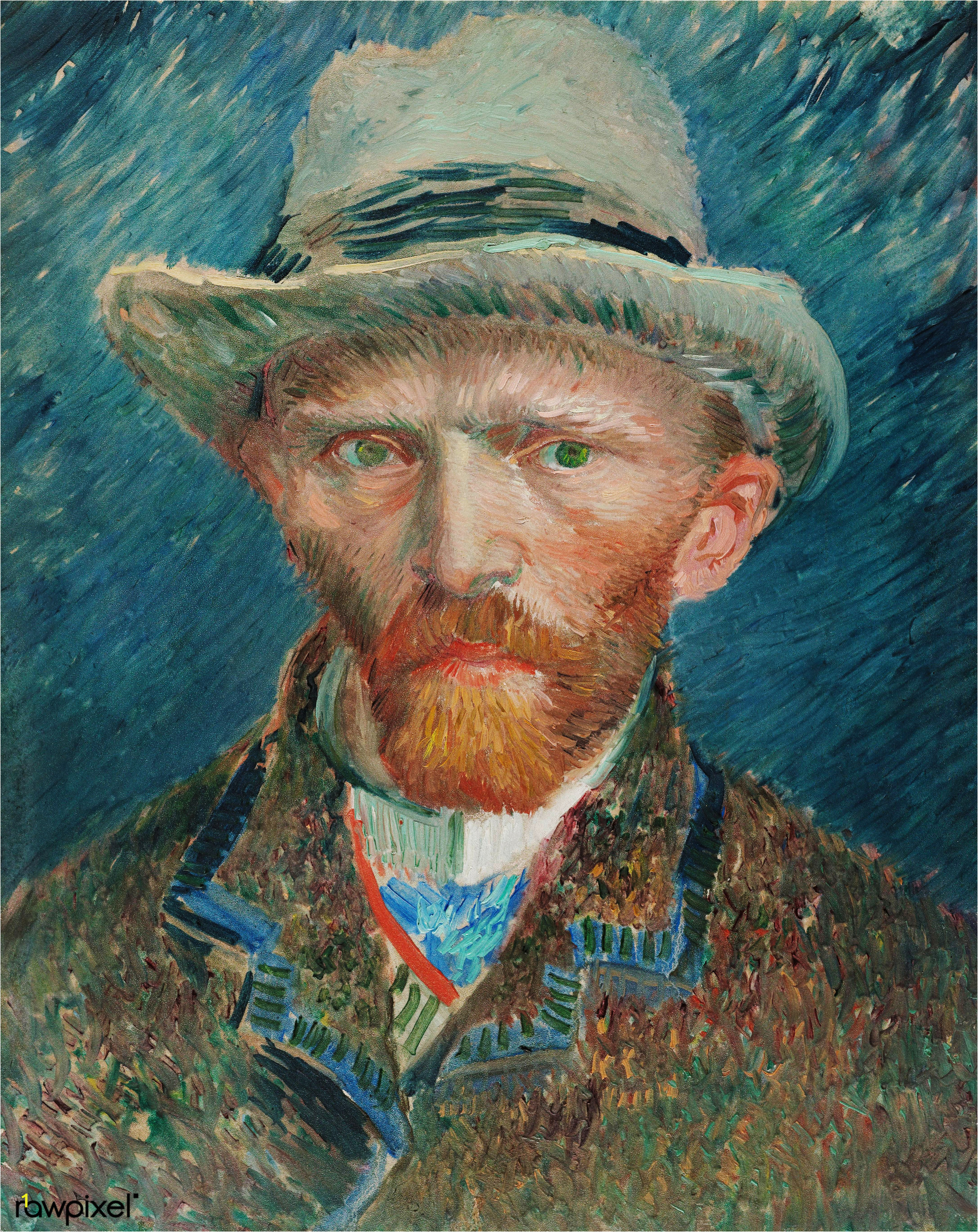 Vincent van Gogh's famous painting digitally enhanced by rawpixel 44
